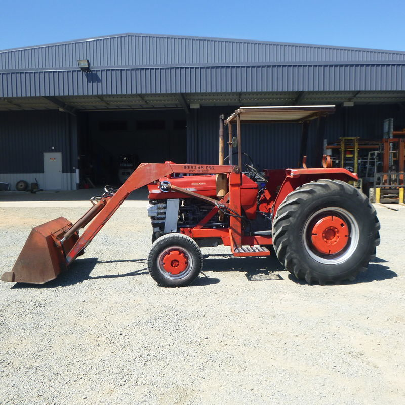 SH Massey Ferguson 165 with loader