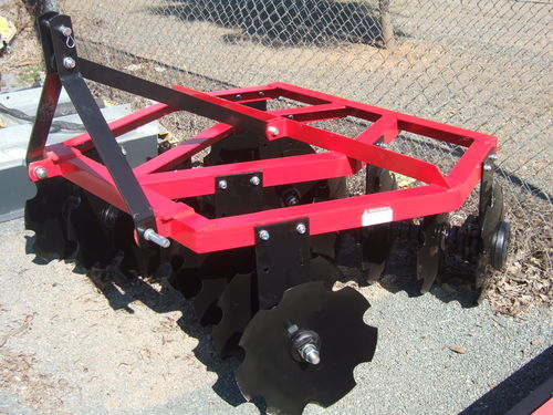 Disc Cultivator 16 plate linkage