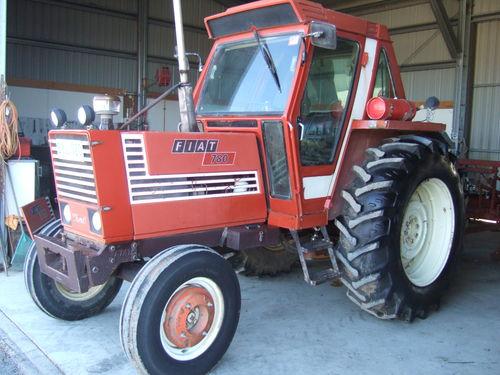 Fiat 780 2 wheel drive cabin tractor