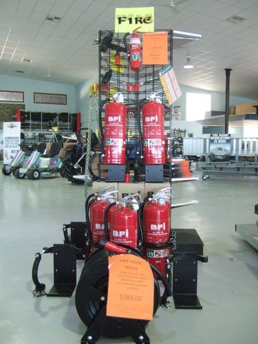 Fire Extinguishers Dry Chemical and water