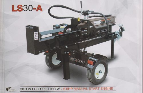 Millers Falls 30 tonn log Splitter petrol engine