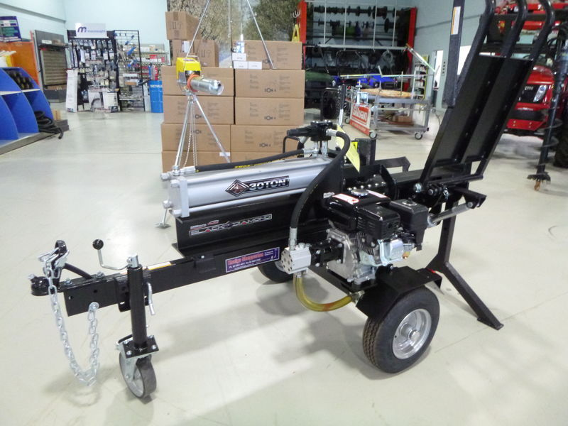 Millers Falls 30t log splitter with hyd table