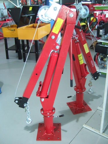 Pick Up Truck hydraulic crane