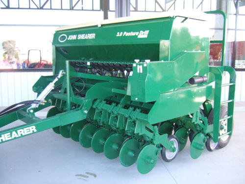 Shearer 23 row 35Mt pasture drill Disc openers