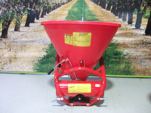 Silvan PL500 345Lt linkage fertiliser spreader