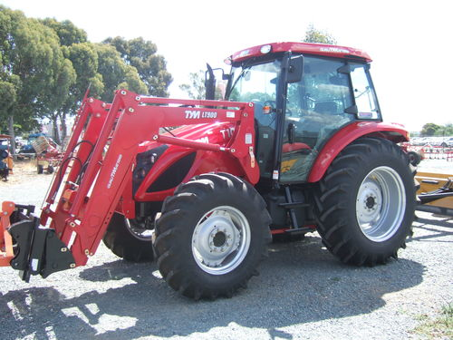 TYM T1003 TRACTOR and FRONT END LOADER 100hp