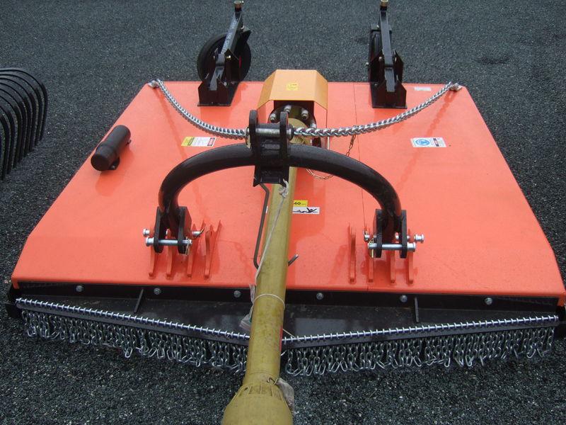 Twm 6ft linkage slasher with rear wheels