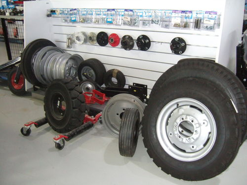 Wheels machine and industrial