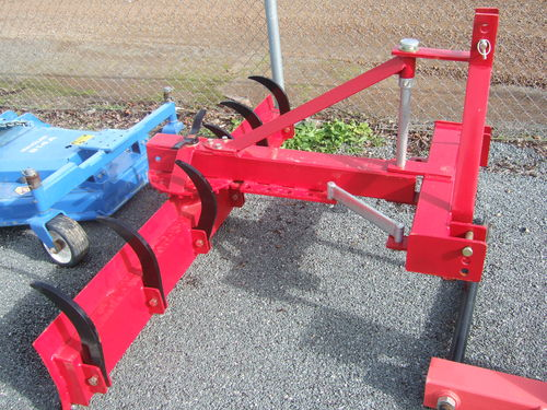 Worker 6ft grader blade with rippers