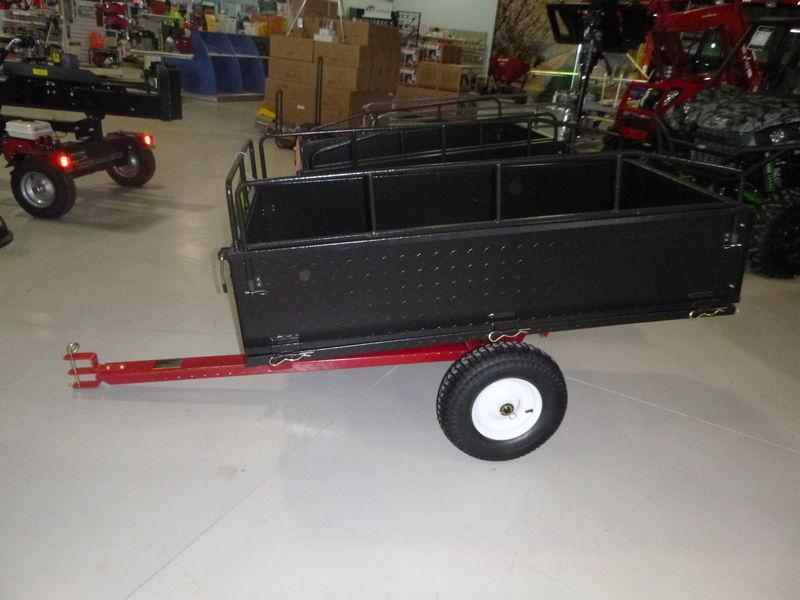 millers falls steel dump cart garden trailer