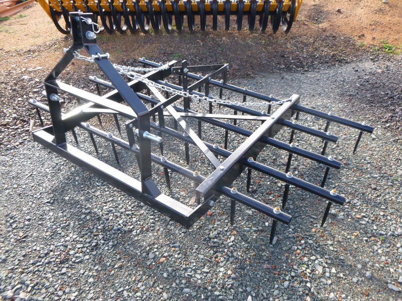 twm 4ft 6in spike harrow adjustable 3 point linkage