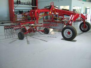 JF-Stoll R760 two Rotor Hay Rake