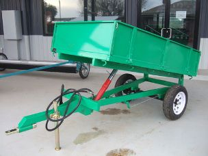 TWM tipping trailer