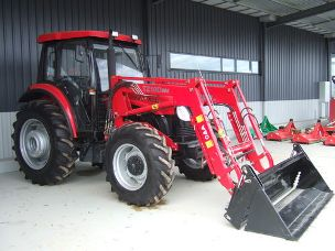 YTO X904 4wd cab tractor fel