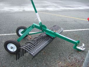 ATV 6ft stick rake