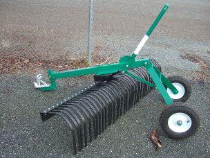 ATV 6ft stick rake