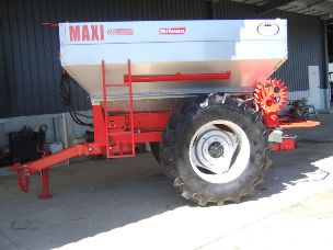 Agrex Maxi 6000 Hi Clearance Fertiliser Spreader