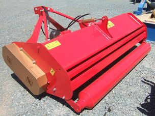 Becchio TS225 linkage mulcher rear roller