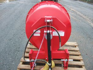 Cement mixer linkage pto