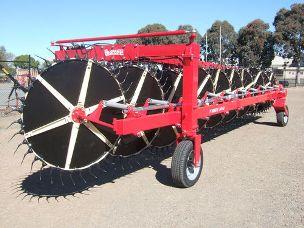Enorossi +quotY+quot rake 14+3 DAAF wheels