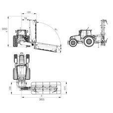 FDM 240 linkage 6 disc mower