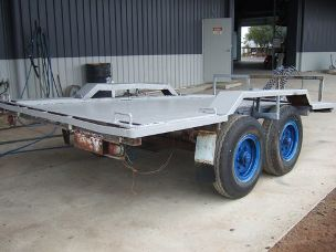Farm Trailer 6ft x 12ft with tandem axle
