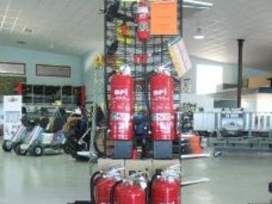 Fire Extinguishers, Dry Chemical and water