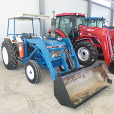 Ford 3910 Rops tractor with Front end loader