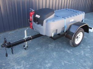 Fuel trailer 400Lt