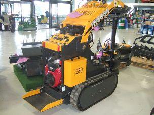 Hysoon TK280 mini digger rubber tracks