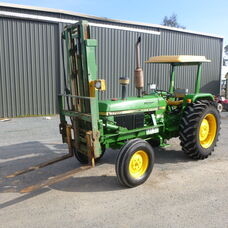 John Deere 1750 with Front Fork Lift