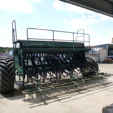 John Shearer 27run 4 bin seed drill