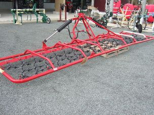 Kanga 60mt hydraulic fold pasture harrow