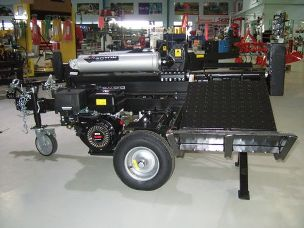 Millers Fall 50 ton log splitter
