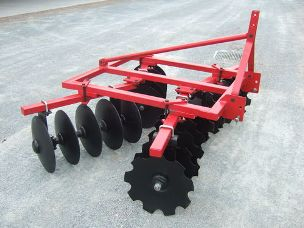 Millers Falls 20 plate linkage disc cultivator