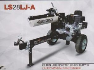 Millers Falls 28 ton log splitter