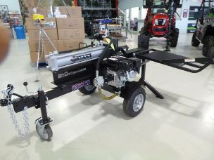 Millers Falls 30 ton log splitter with hyd. table