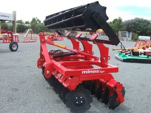 Minos Agri 20 plate multi-disc hydraulic roller