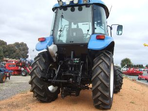 New Holland TD55D tractor cabin 55hp