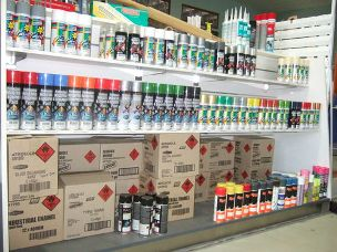 Paints - Degreasers - Silicones - Tools