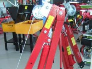 Pick Up Truck hydraulic crane