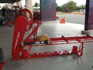 Minos Agri rotary disc mower 6 disc