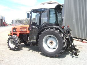 Same Golden 85 cabin 4wd compact tractor