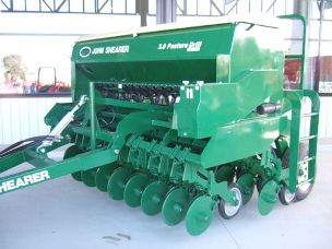 John Shearer Seeder 3.0Mt Dbl Disc Pasture Drill