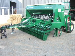 John Shearer Seeder 3.5m Coulter Tine Drill 23 row