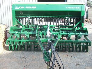 Shearer 35m coulter tine drill 23 row