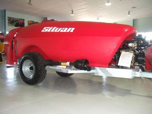 Silvan Stiletto 2000lt electrics