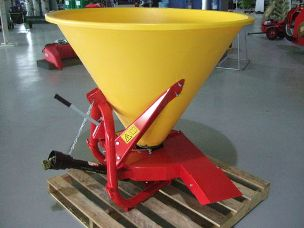 Silvan XL500 linkage spreader single side conveyor