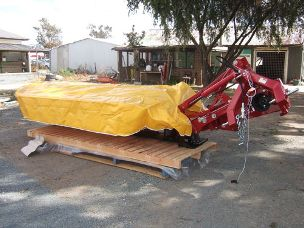 Sitrex 7 disc linkage mower