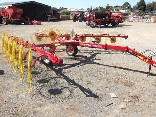 Sitrex QR 8 mounted rake 8 wheel vee rake